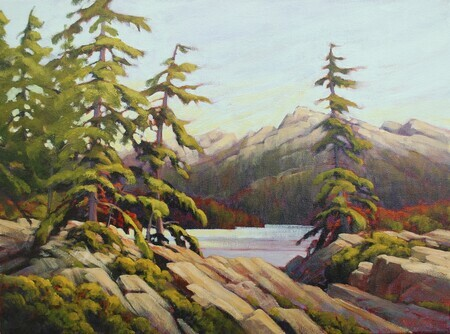 """Evening on Howe Sound"""